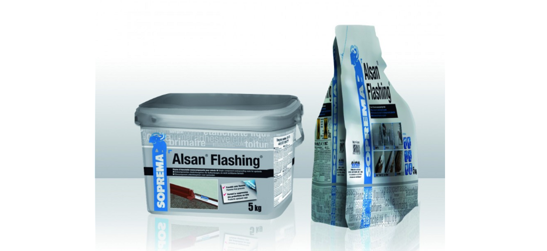 New packaging for Alsan® Flashing